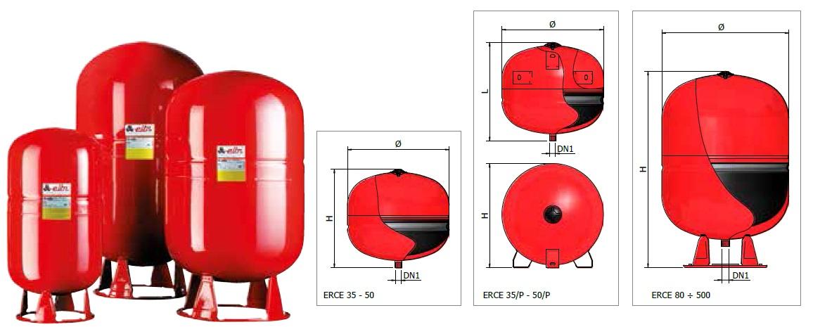 Disegni tecnici ERCE