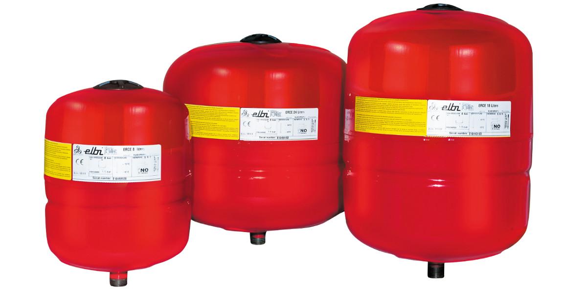 Vasi di espansione per riscaldamento elbi termoidraulica for Vasi di espansione a membrana