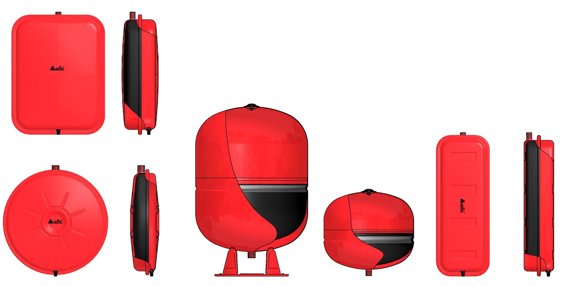 Prodotti elbi termoidraulica for Vasi di espansione a membrana